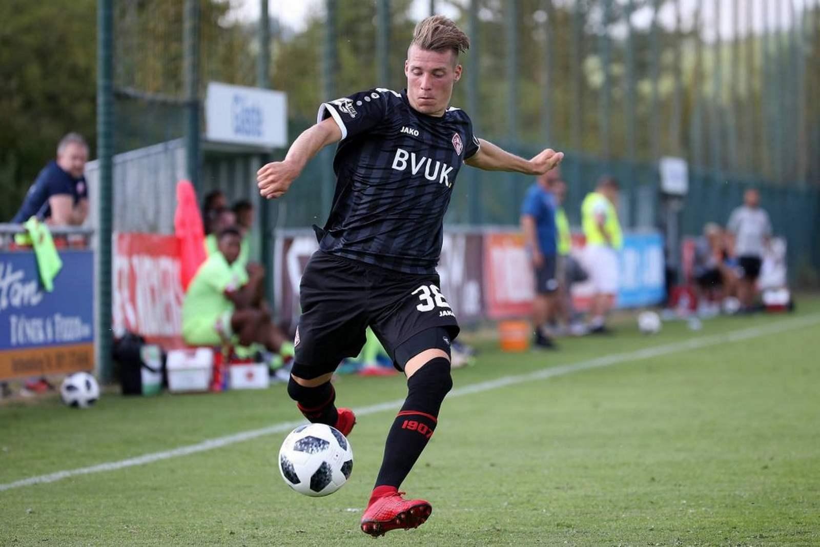 Dominik Widemann bei den Würzburger Kickers