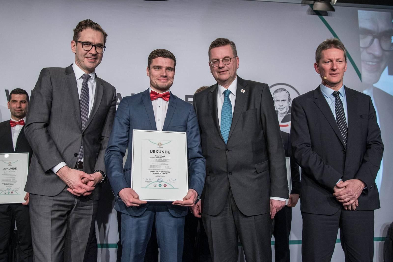 Friedrich Curtius, Robert Klauß, Reinhard Grindel, Frank Wormuth