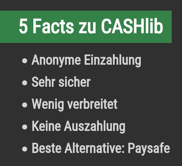 5 Fakten zu CASHlib