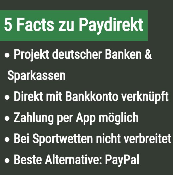 5 Fakten zu Paydirekt
