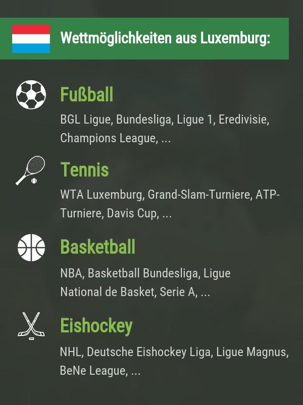 Luxemburg Wetten
