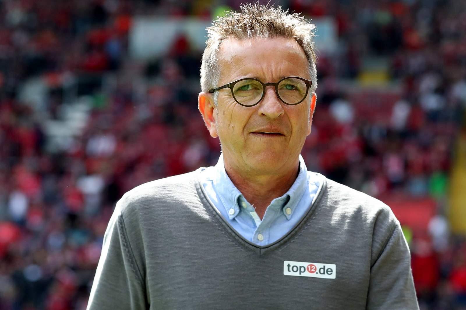 Ex-Trainer Norbert Meier.