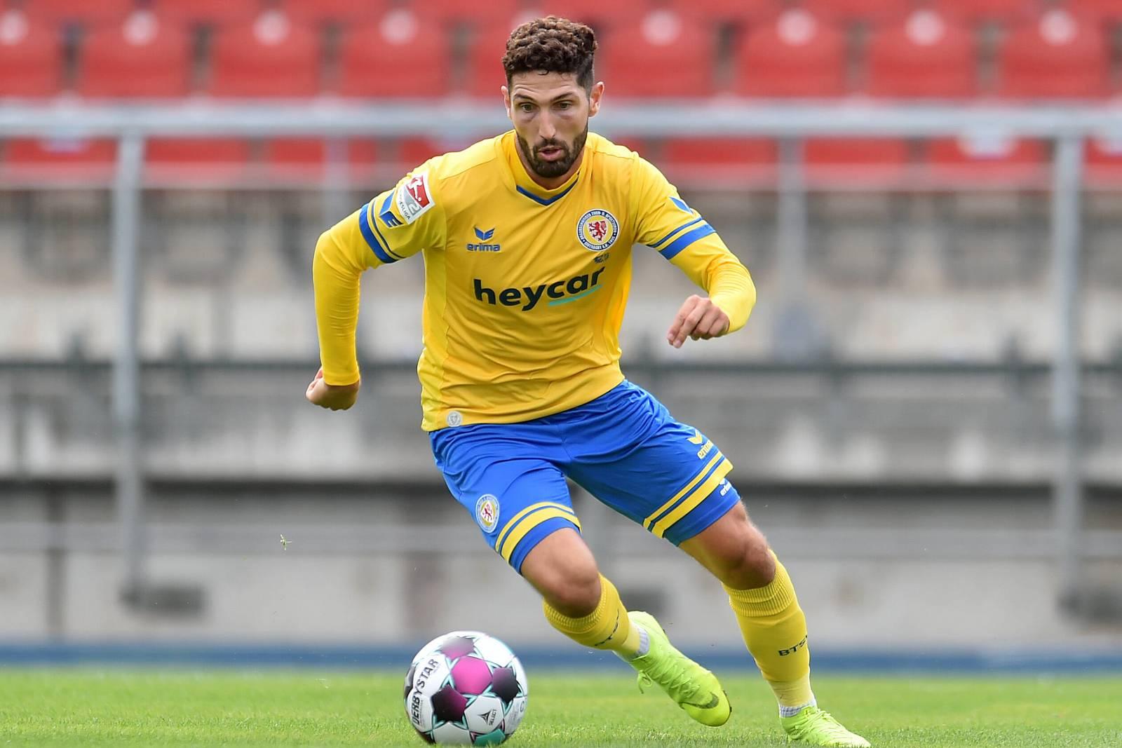 Fabio Kaufmann von Eintracht Braunschweig