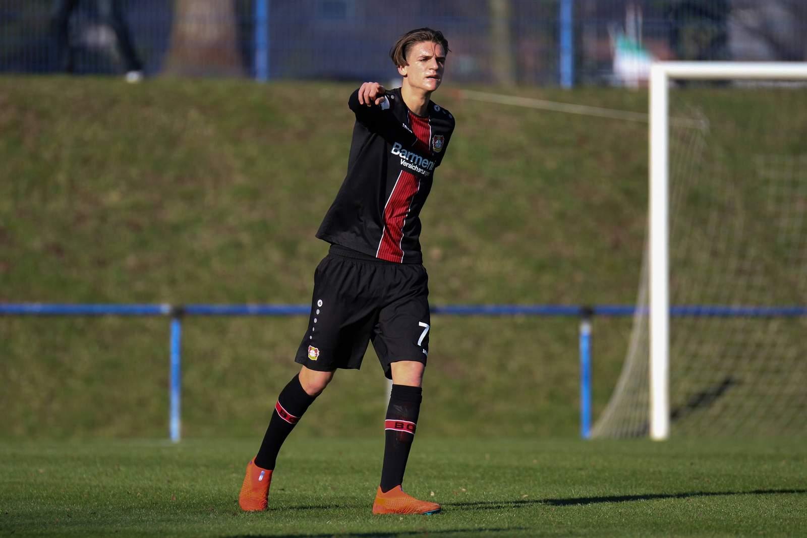 Marc Lamti in der u19 von Bayer Leverkusen