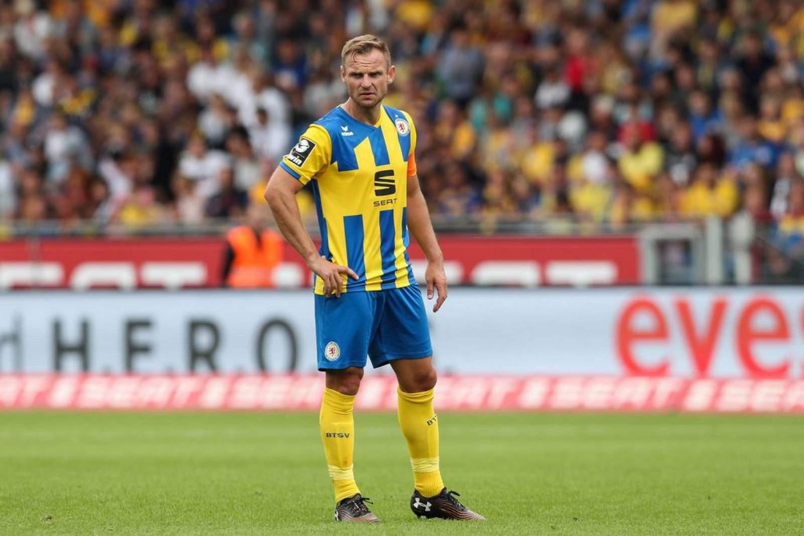 Bernd Nehrig bei Eintracht Braunschweig