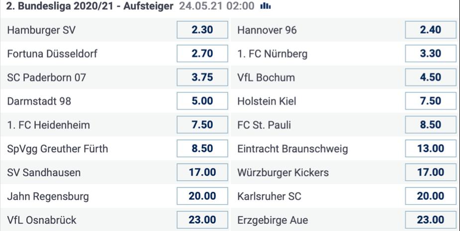 bet-at-home Screenshot 2. Bundesliga Wetten