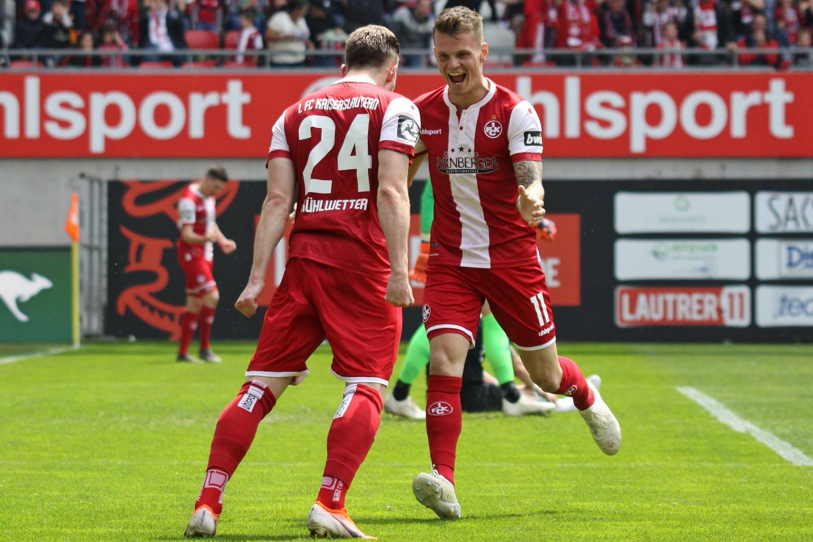 Christian Kühlwetter und Florian Pick beim 1. FC Kaiserslautern