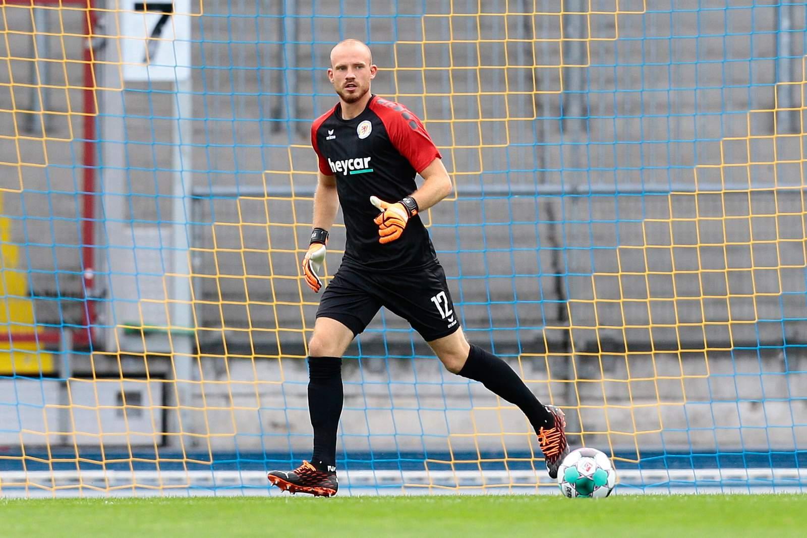 Felix Dornebusch im Test gegen De Graafschap.