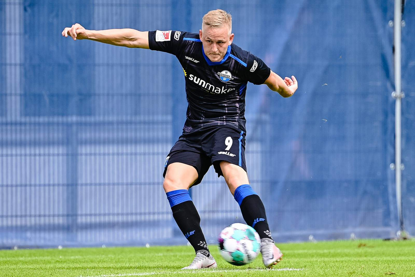 Kai Pröger im Test gegen Uerdingen.