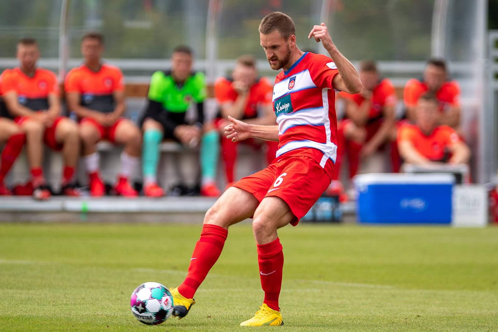 Patrick Mainka vom 1. FC Heidenheim