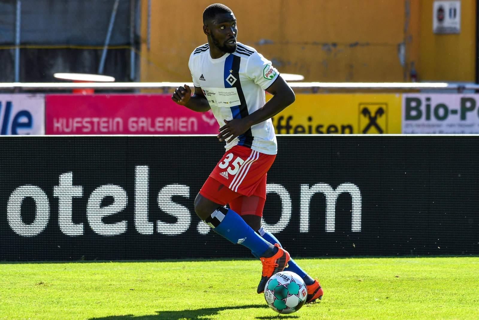 Stephan Ambrosius im Test gegen Stuttgart.