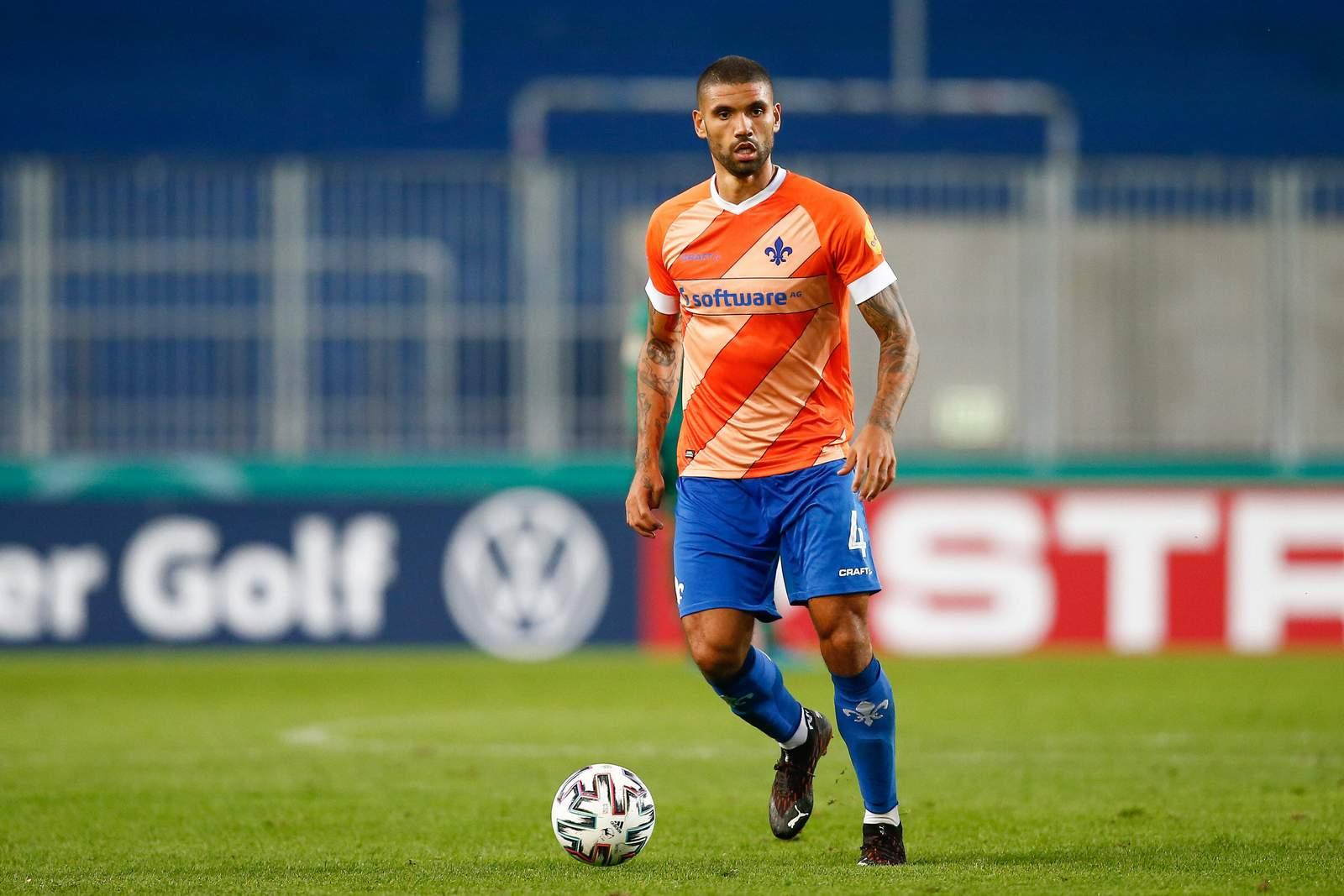 Victor Palsson im Pokal gegen Magdeburg.