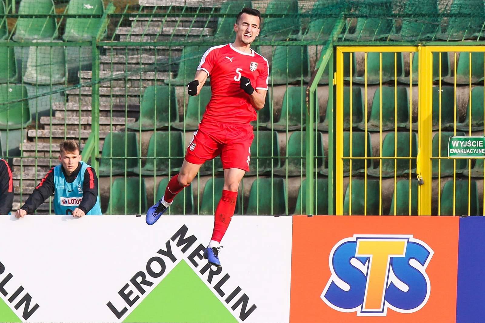 Erhan Masovic bei der serbischen U21