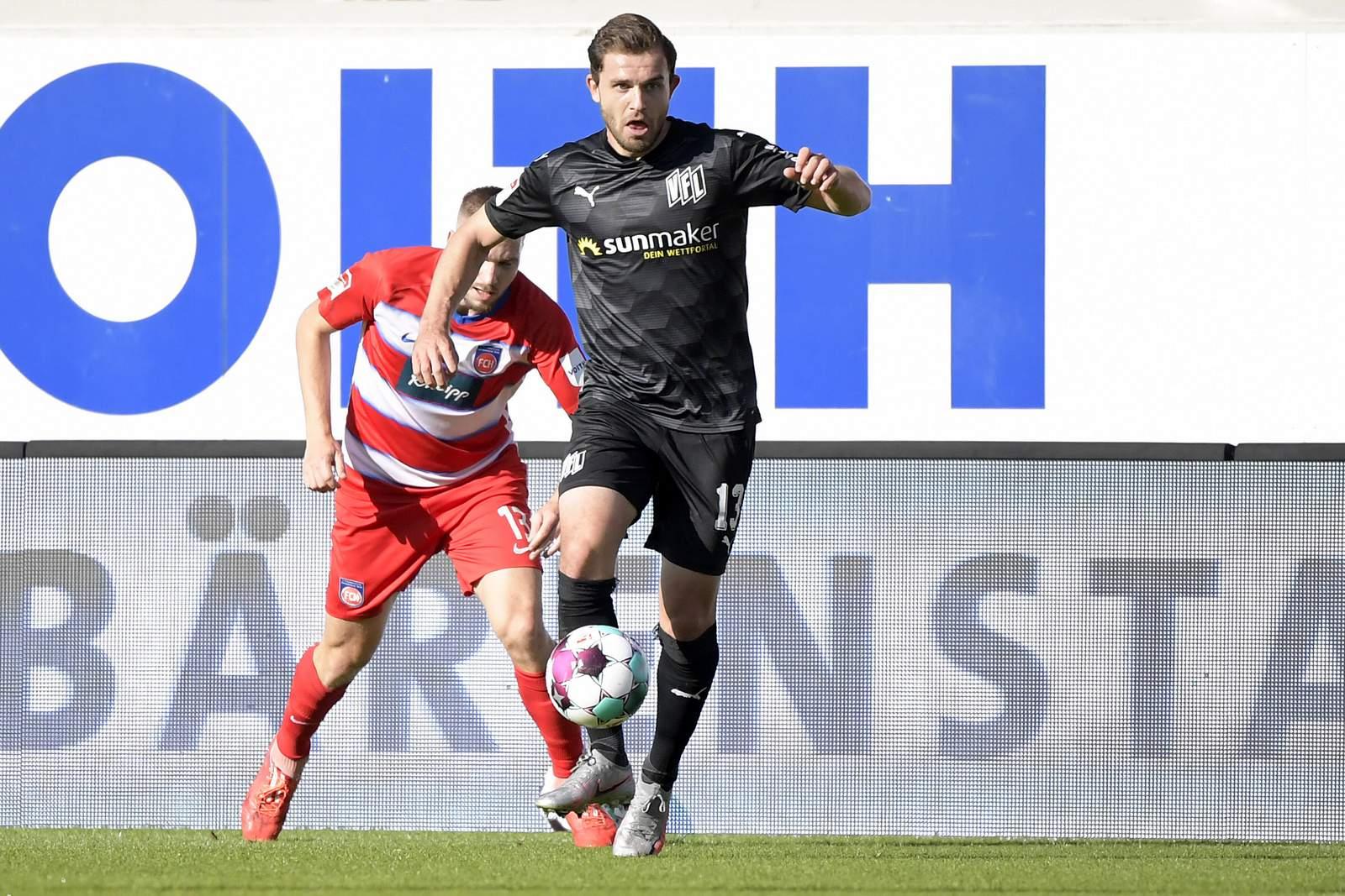 Ken Reichel vom VfL Osnabrück