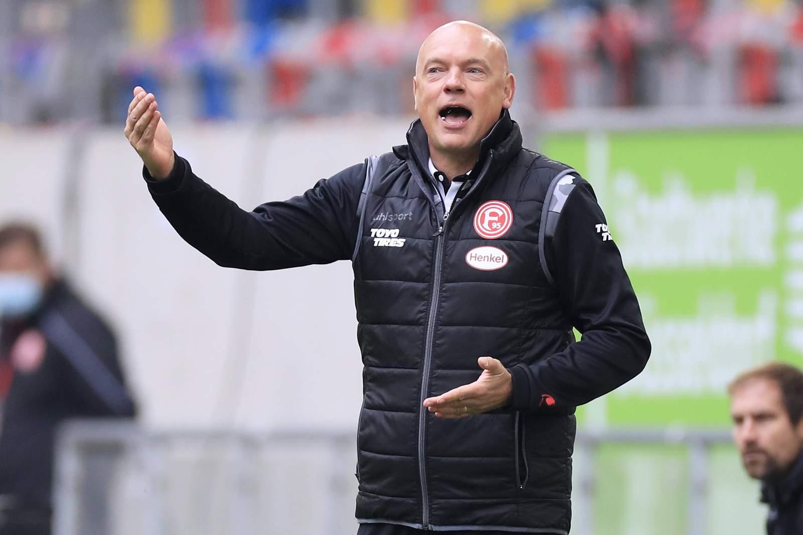 Uwe Rösler bei Fortuna Düsseldorf