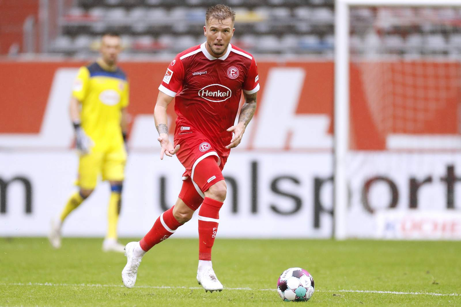 André Hoffmann gegen Würzburg.