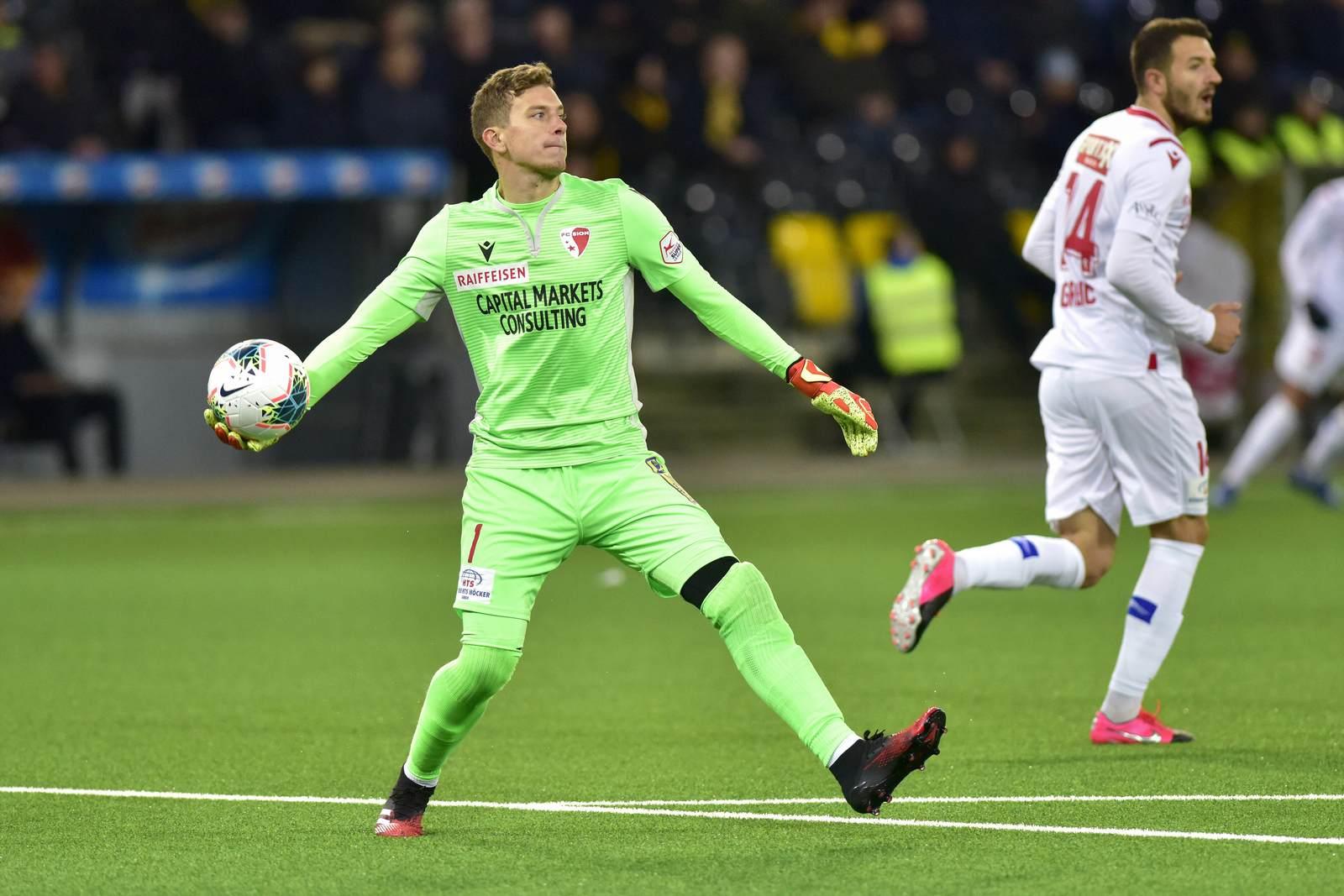 Anton Mitryushkin beim FC Sion