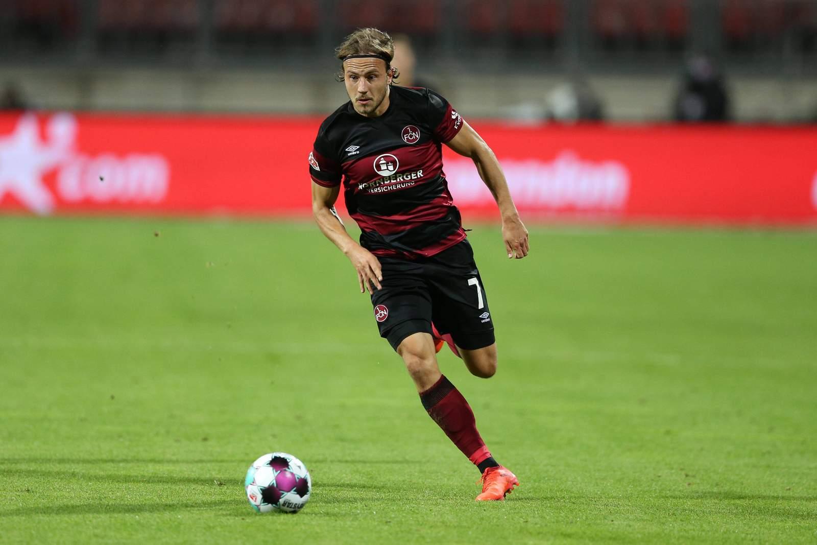 Felix Lohkemper im Spiel gegen Darmstadt.
