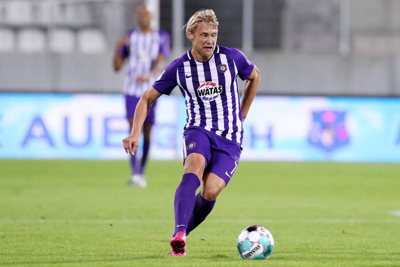 Jan Hochscheidt beim FC Erzgebirge Aue