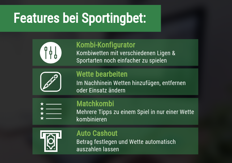 Features bei Sportingbet