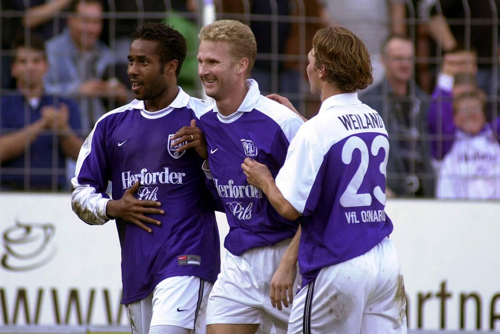Daniel Thioune, Christian Claaßen und Dennis Weiland beim VfL Osnabrück