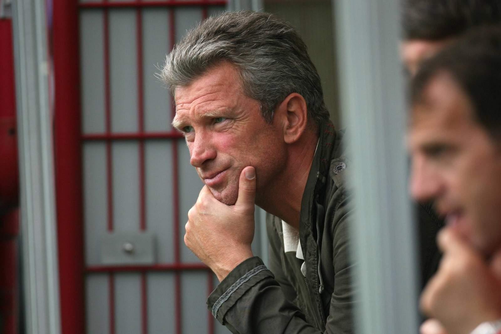 Christian Schreier war als Sportlicher Leiter in Paderborn tätig.