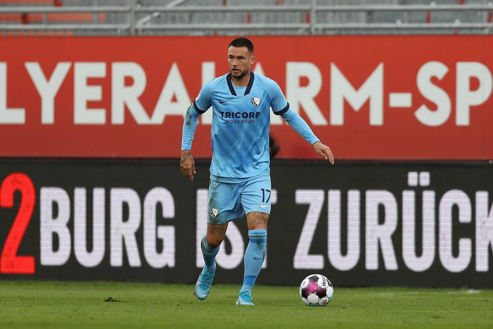 Danny Blum gegen Würzburg.