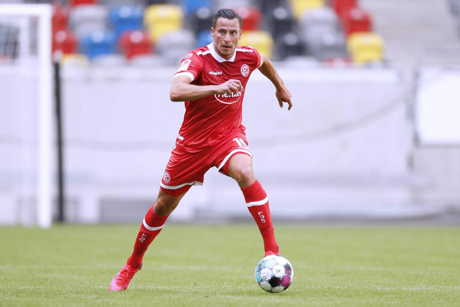 Edgar Prib im Testspiel gegen Paderborn.