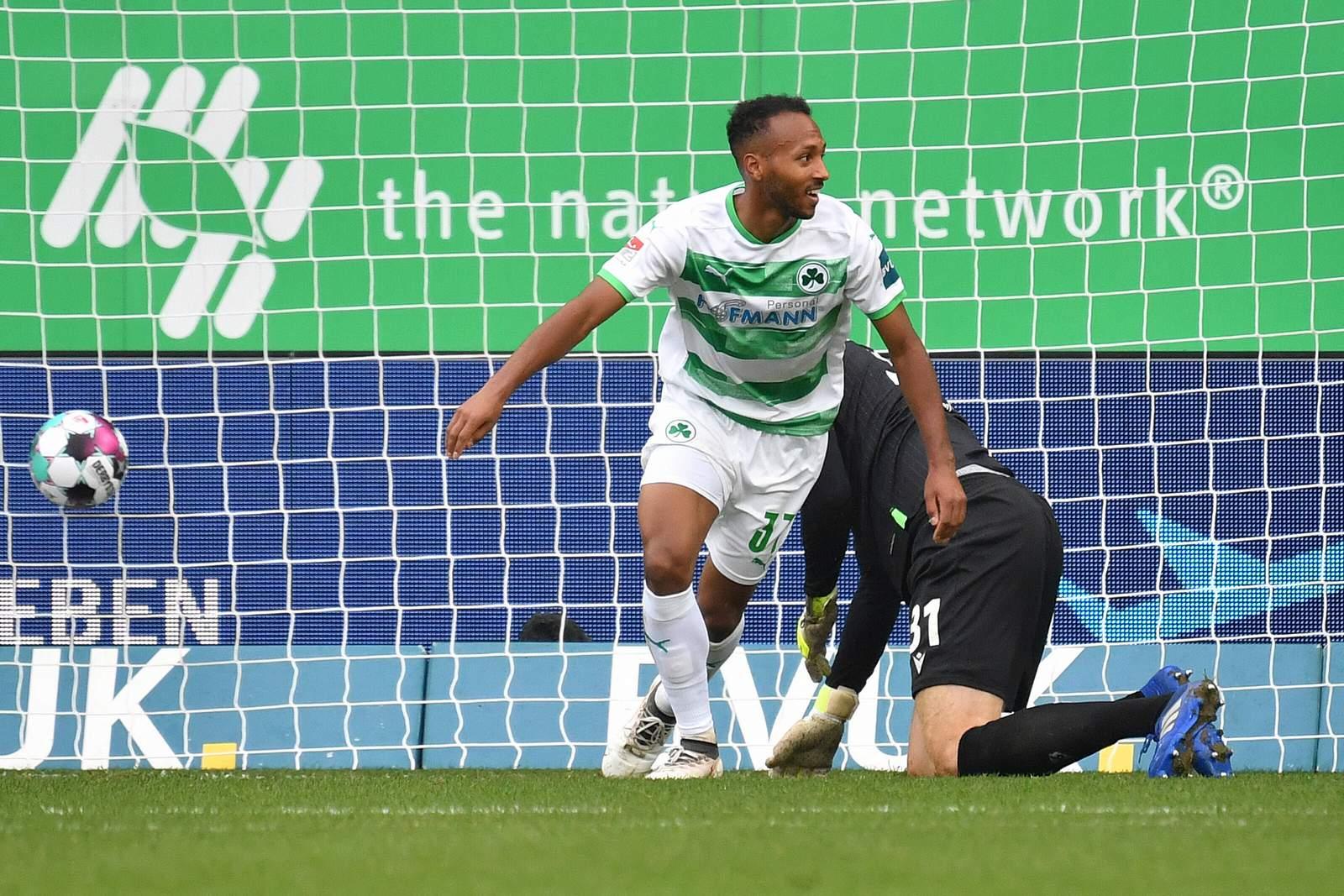 Julian Green trifft gegen Hannover.