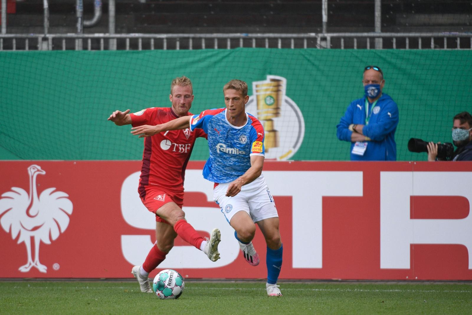 Lion Lauberbach im DFB Pokal
