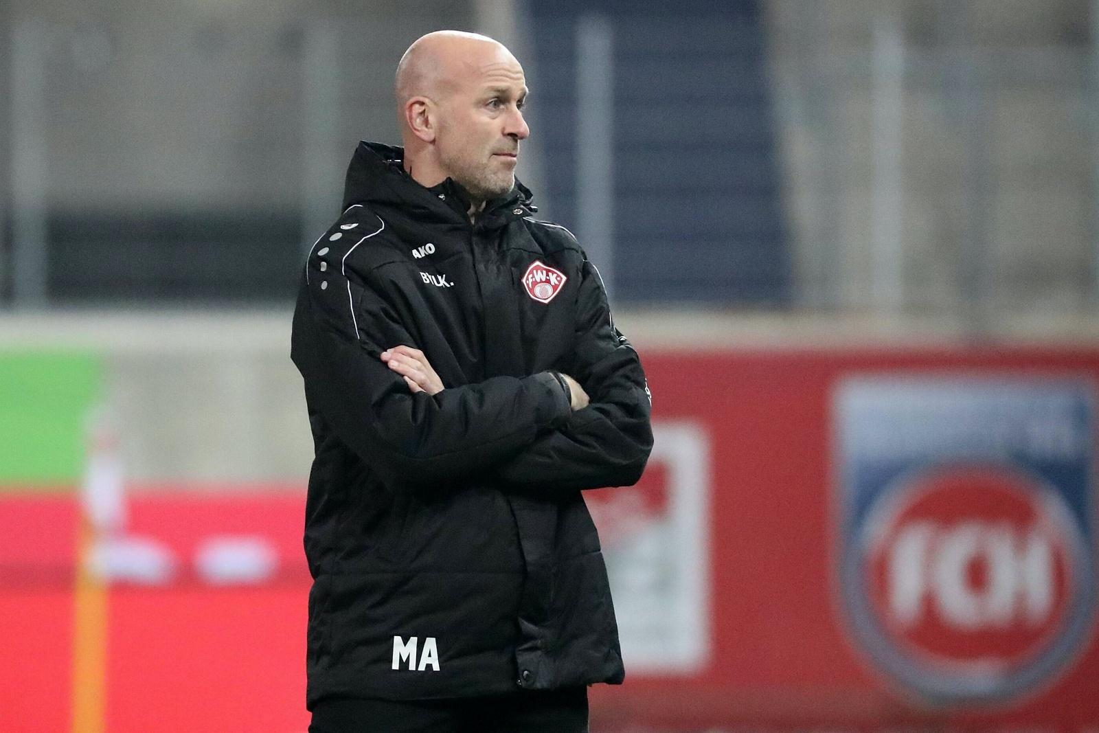 Marco Antwerpen bei den Würzburger Kickers