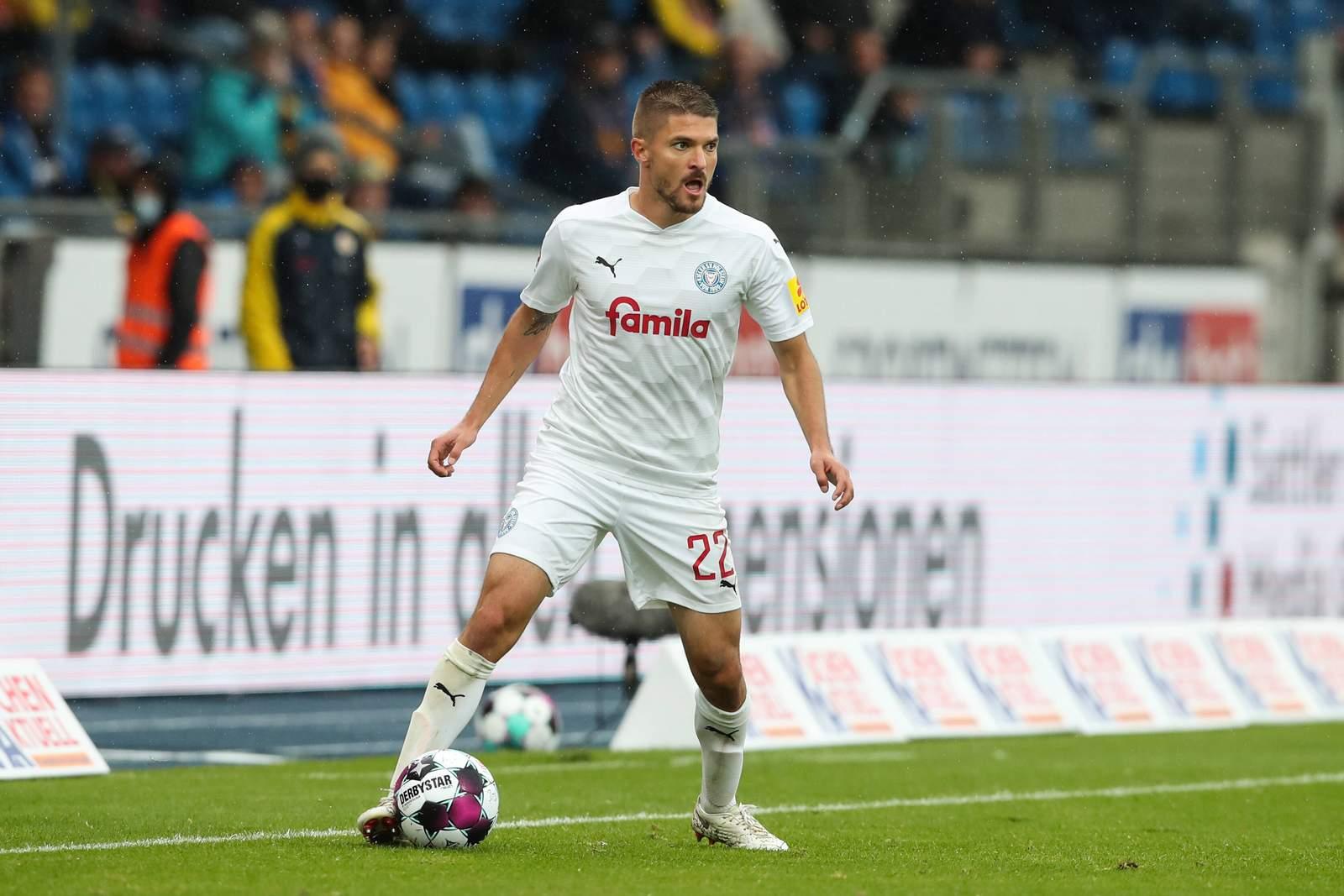 Aleksandar Ignjovski im Spiel gegen Braunschweig.