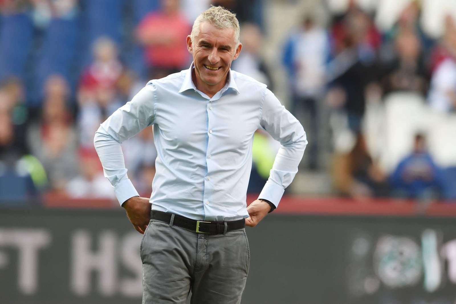 Mirko Slomka, neuer Trainer des Karlsruher SC.