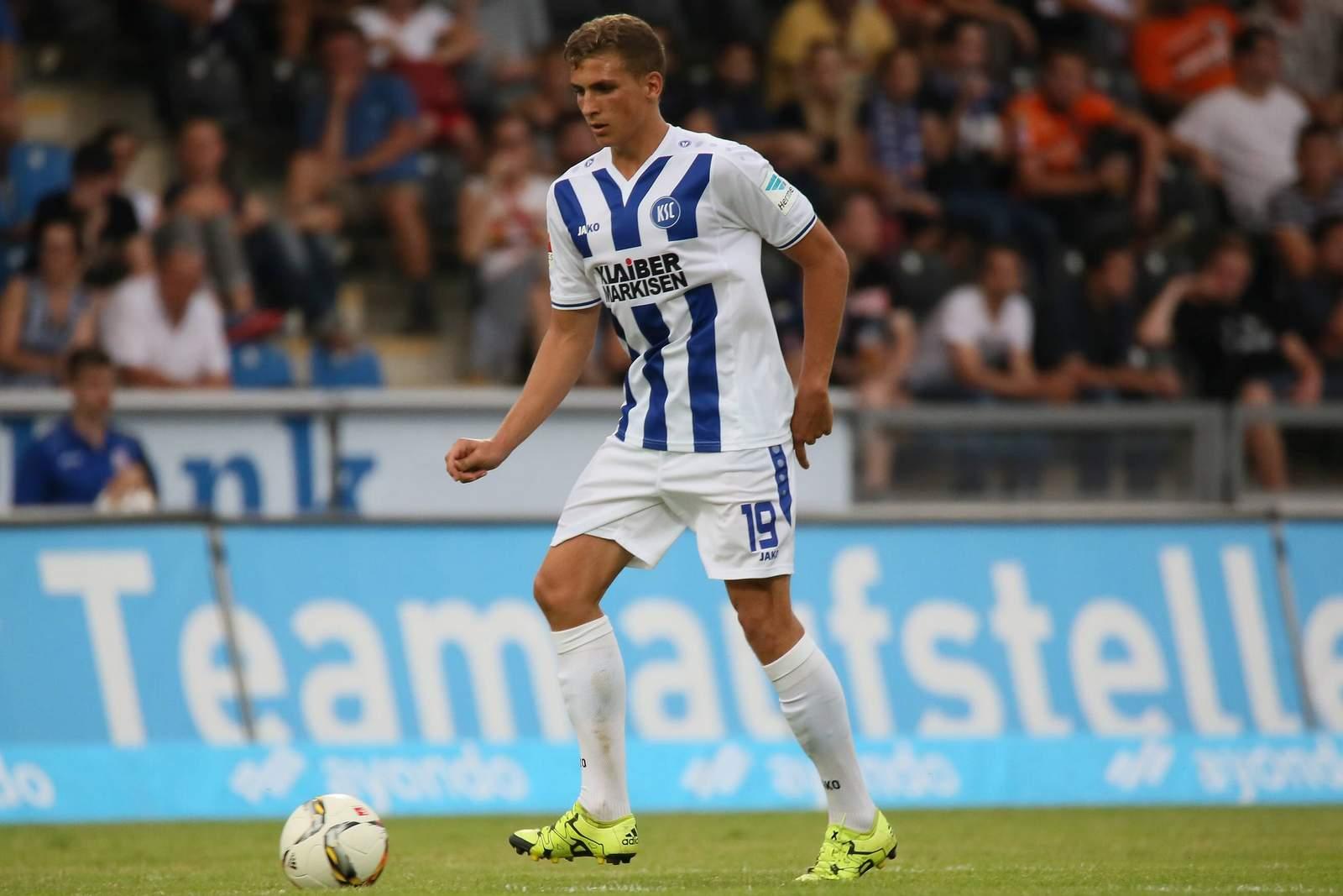 Grischa Prömel, Mittelfeldspieler des Karlsruher SC.