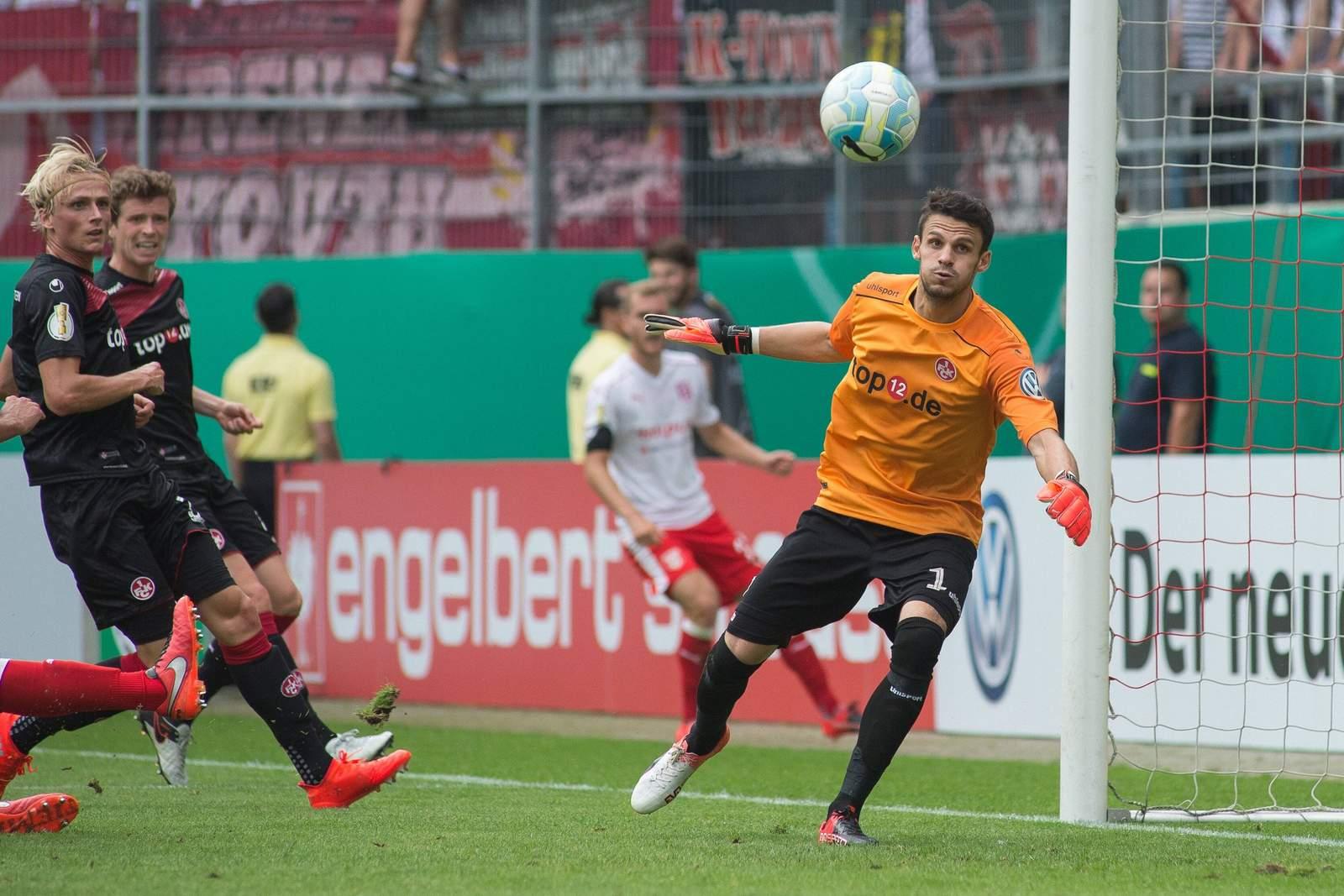 André Weis, aktuell nur Ersatkeeper beim 1. FC Kaiserslautern.