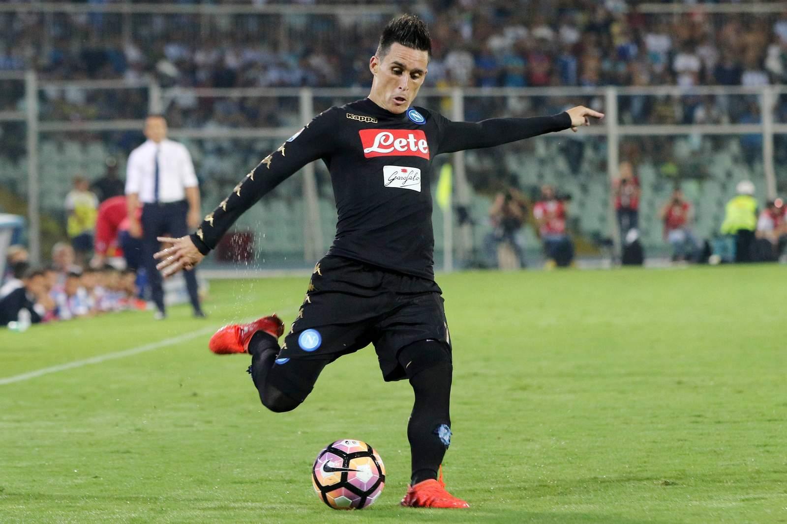 José Callejon zieht ab. Jetzt auf Neapel gegen Sampdoria Genua wetten!