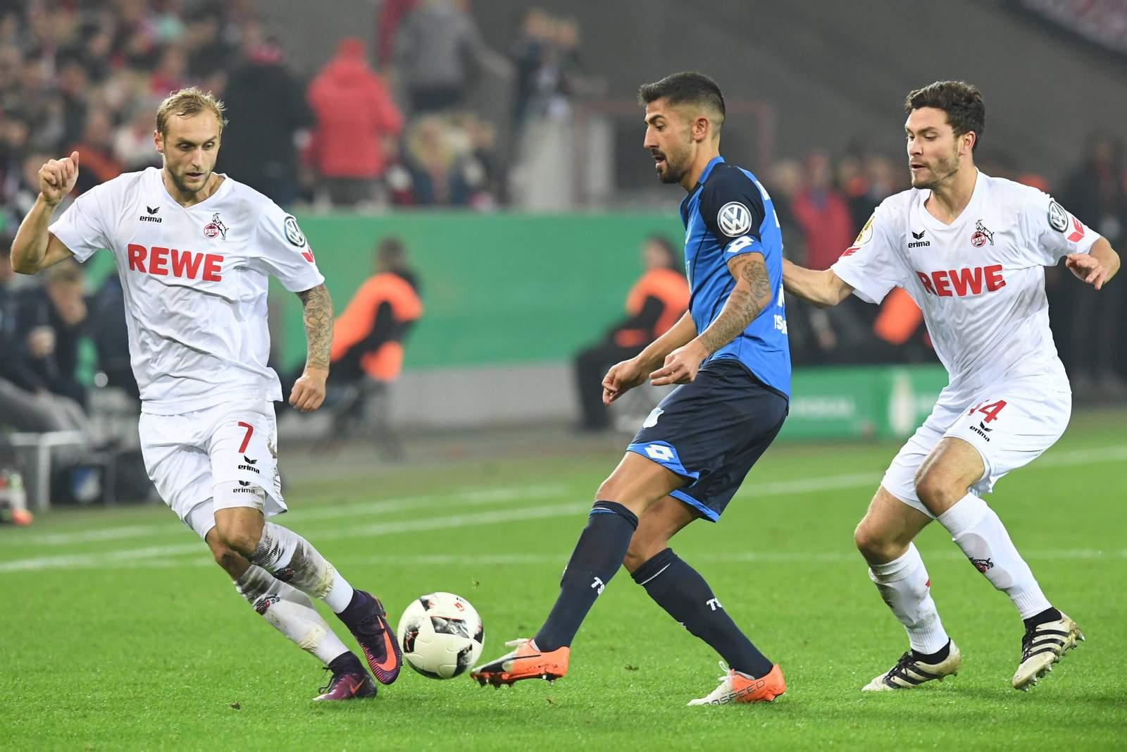 Setzt sich Demirbay mit seiner TSG gegen Köln durch? Jetzt auf Köln gegen Hoffenheim wetten!