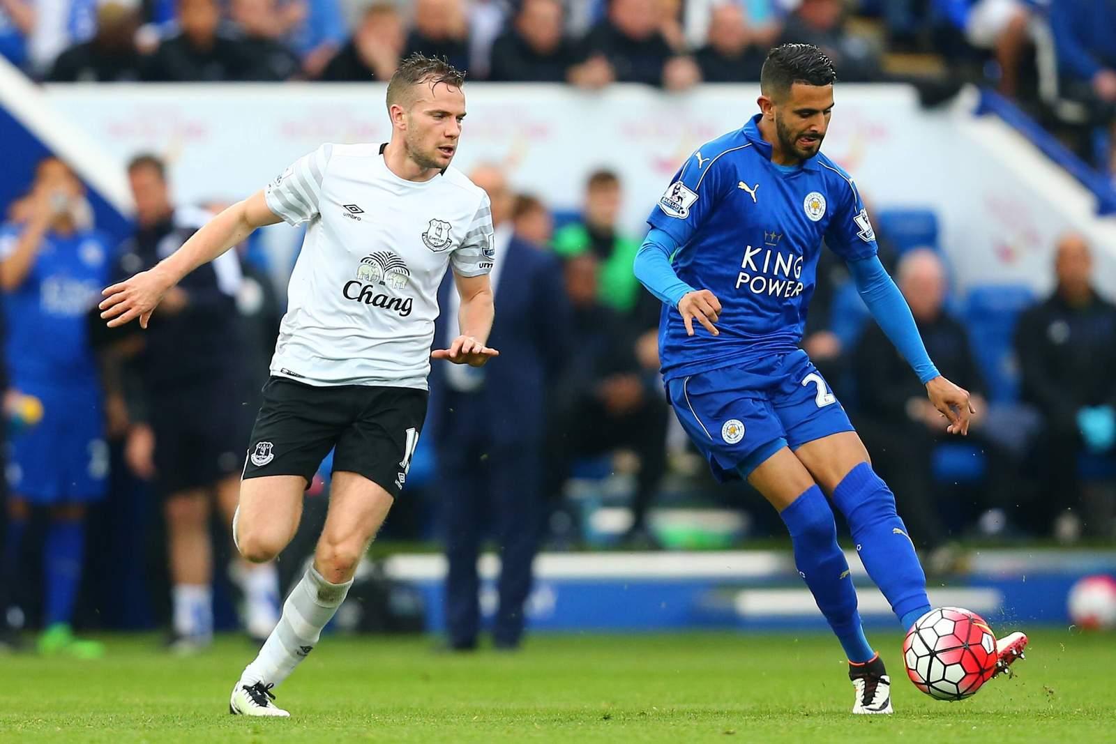 Setzt sich Mahrez gegen Cleverley durch? Jetzt auf Leicester gegen Everton wetten