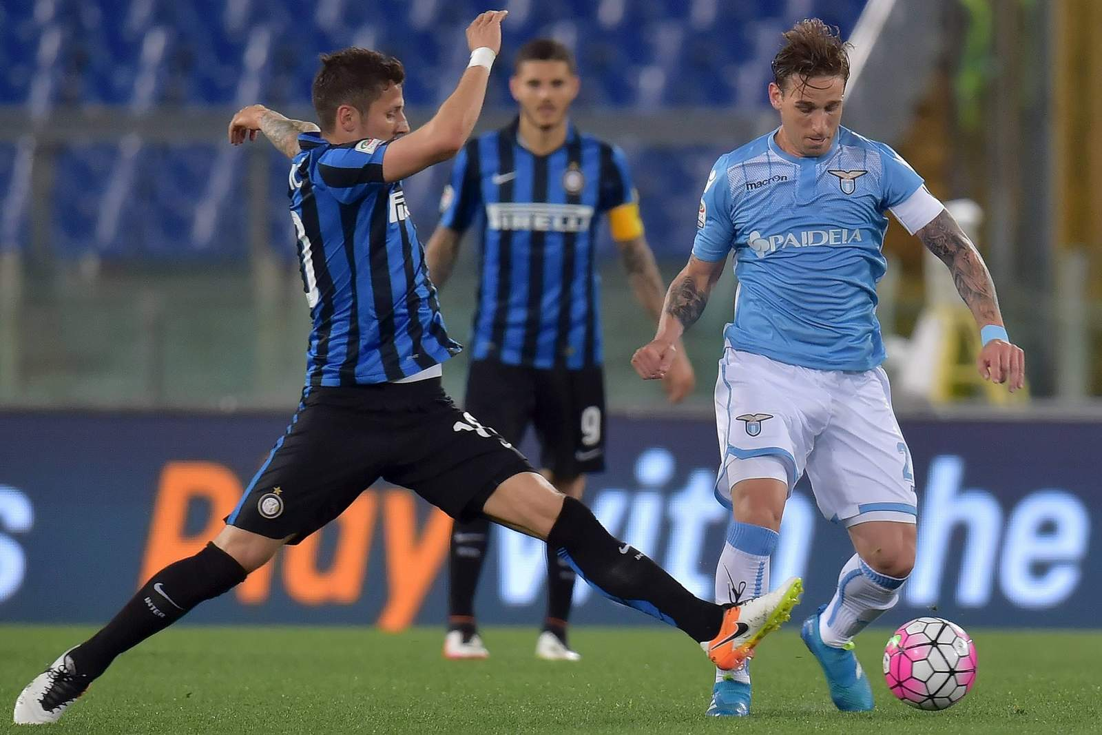 Setzt sich Jovetic gegen Biglia durch? Jetzt Inter Mailand gegen Lazio Rom im Livestream schauen