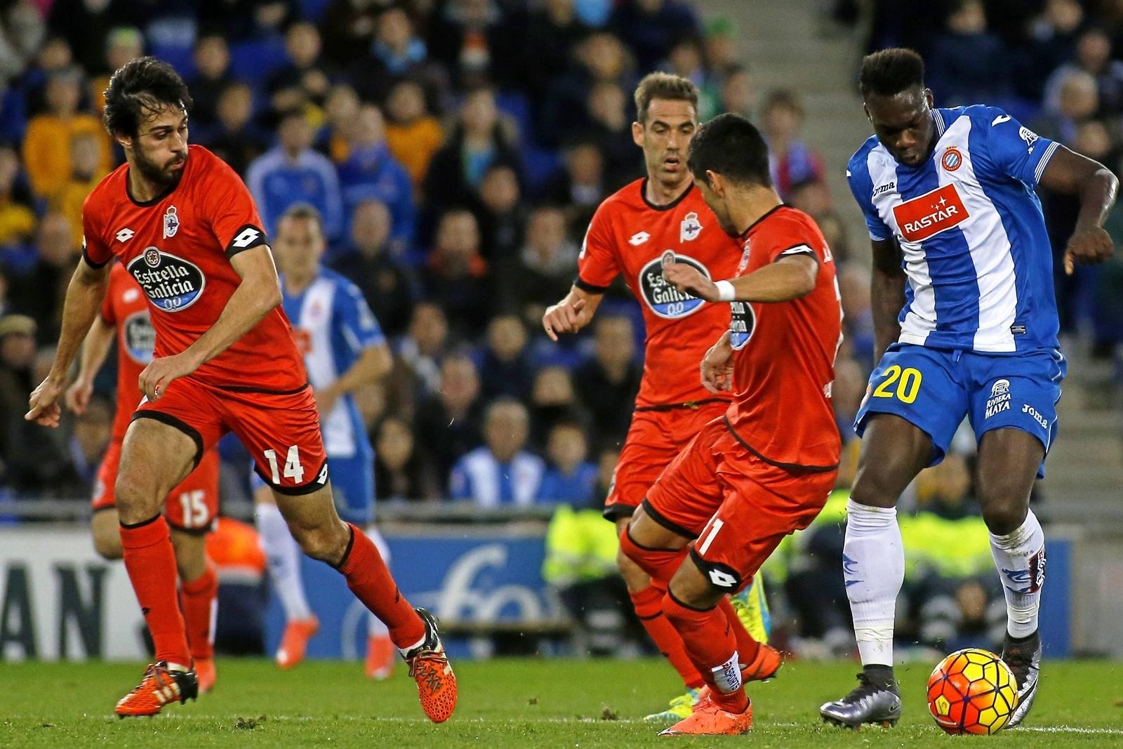 Caicedo gegen die Depor-Übermacht. Jetzt auf Espanyol gegen Deportivo La Coruna wetten!