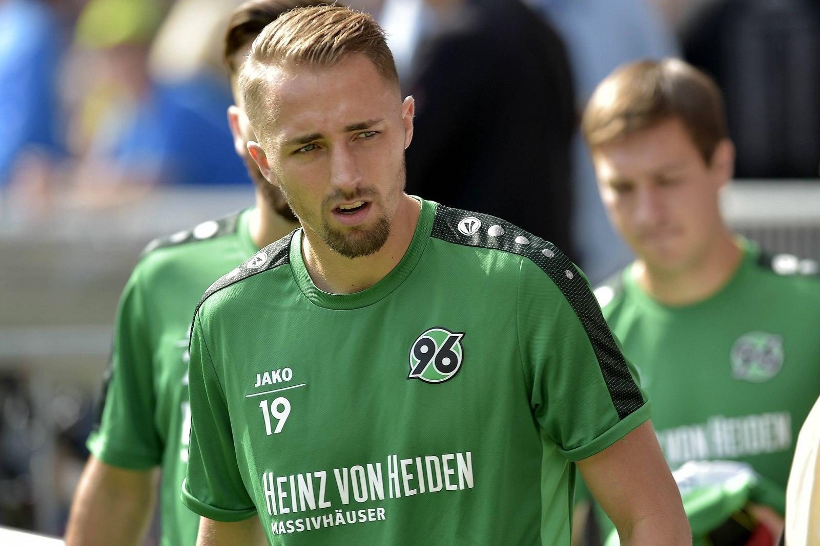 Florian Hübner, Innenverteidiger von Hannover 96.