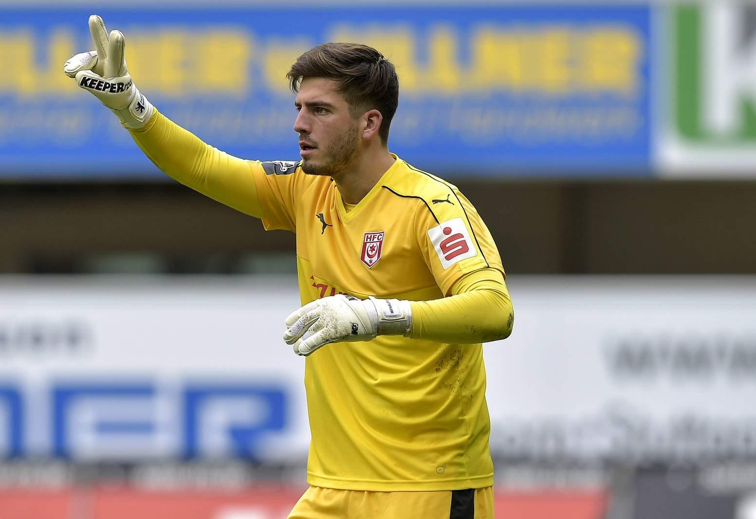 Fabian Bredlow vom Halleschen FC