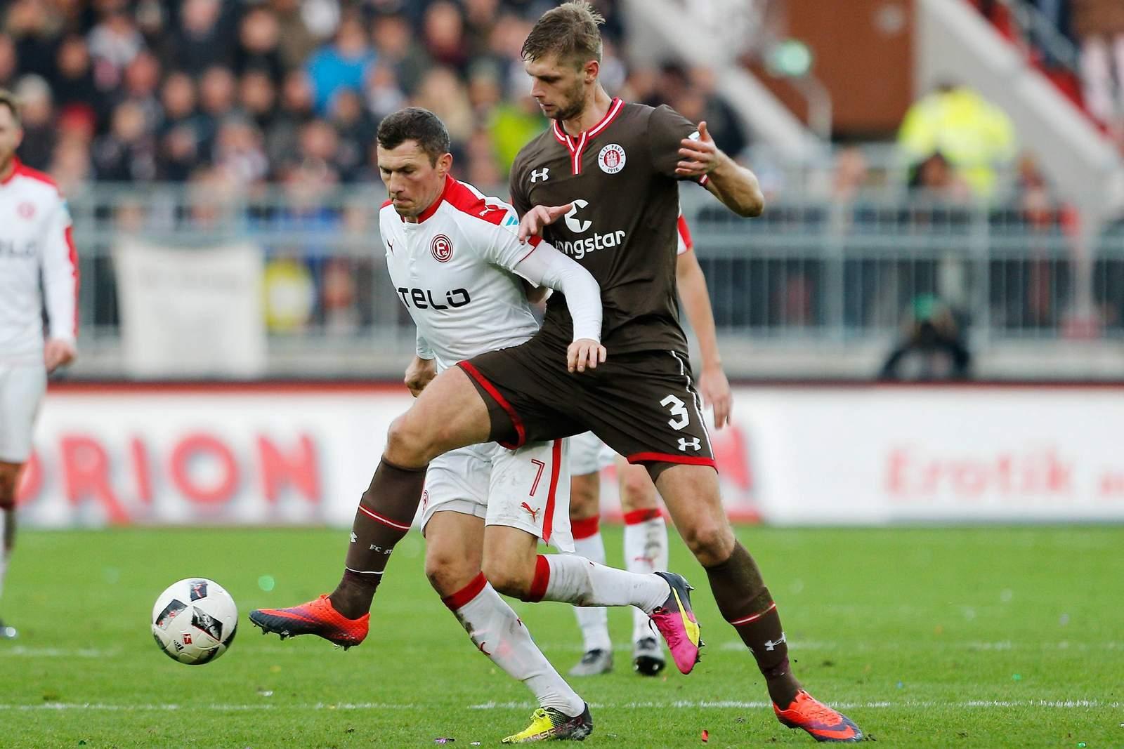 Setzt sich Fink gegen Sobiech durch? Jetzt auf Fortuna Düsseldorf gegen St. Pauli wetten