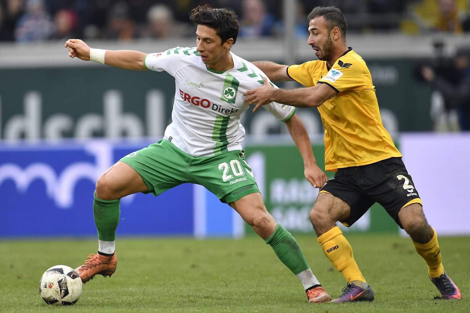 Setzt sich Zulj gegen Gogia durch? Jetzt auf Fürth gegen Dynamo Dresden wetten