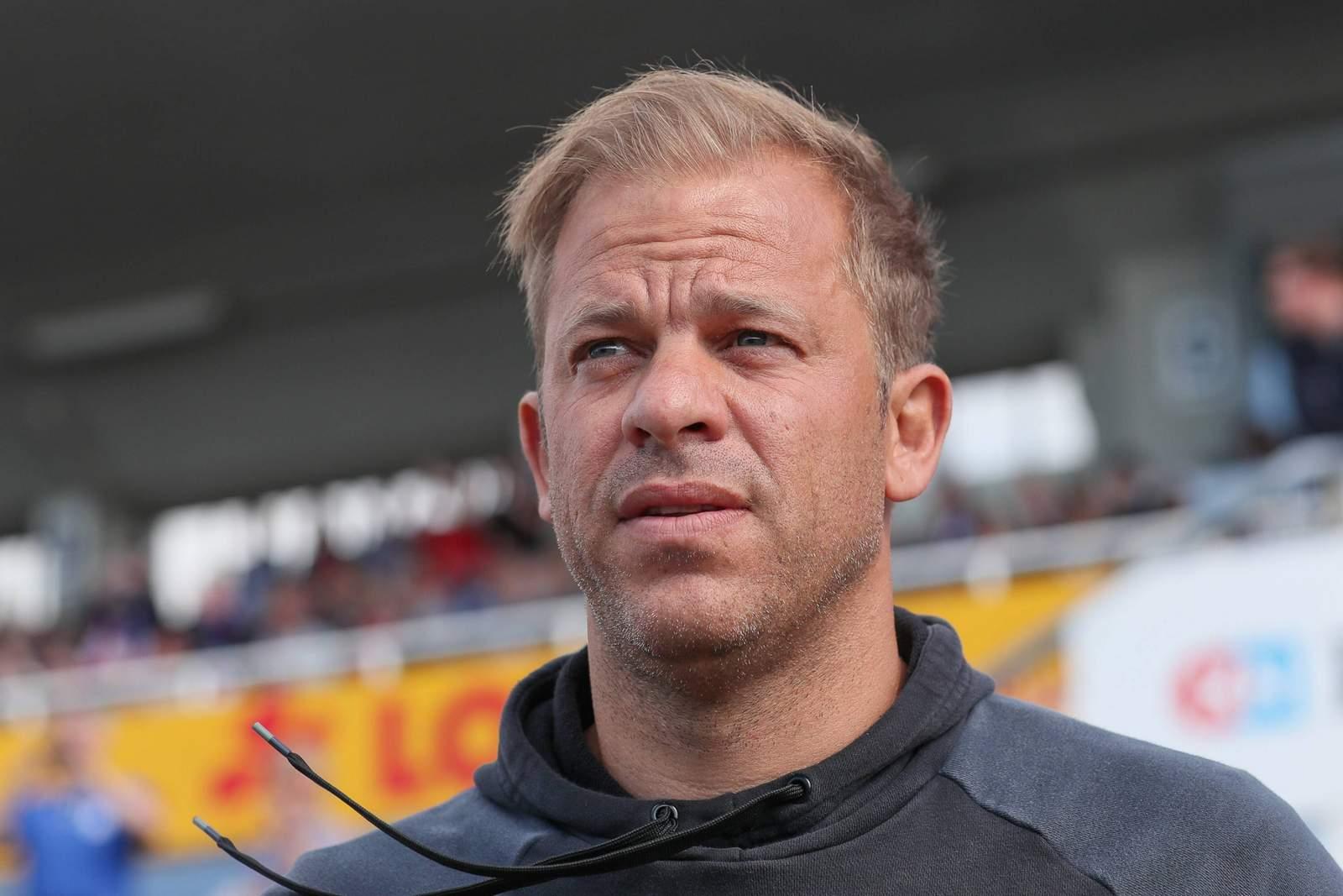 Der Trainer der KSV Markus Anfang