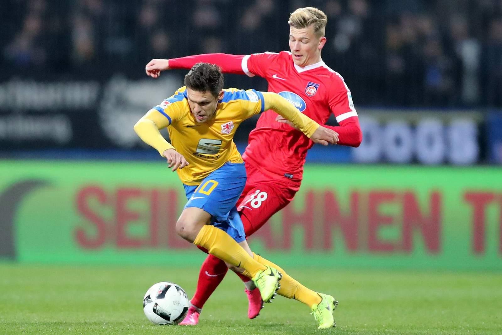 Liga: Braunschweig bezwingt Heidenheim